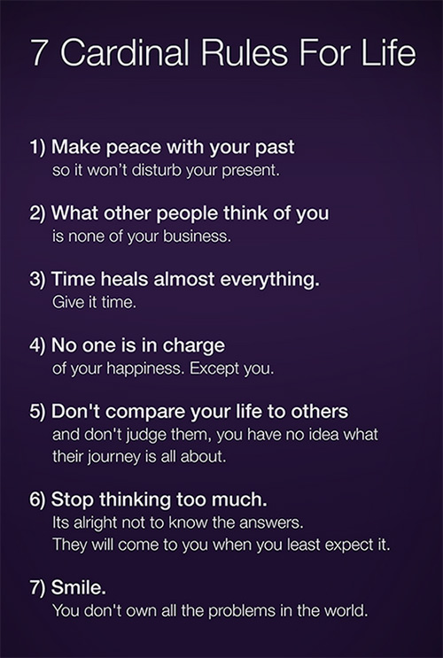 7-cardinal-rules-for-life