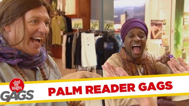 Best Palm Reader Pranks – Just For Laughs Gags