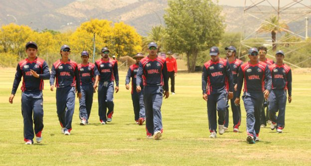 Nepal Cricket Team Playing For Division 1