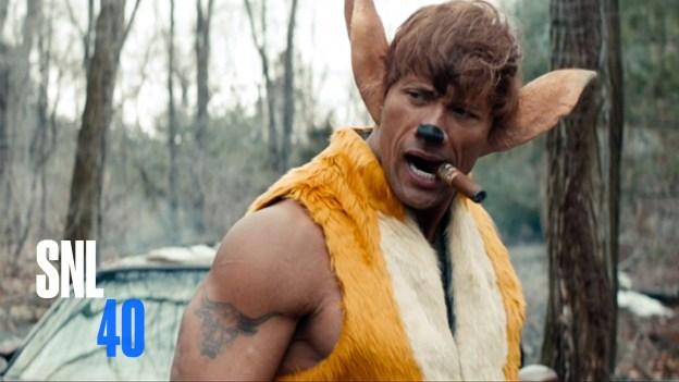 Disney's New Movie Bambi Starring Dwayne 'The Rock' Johnson