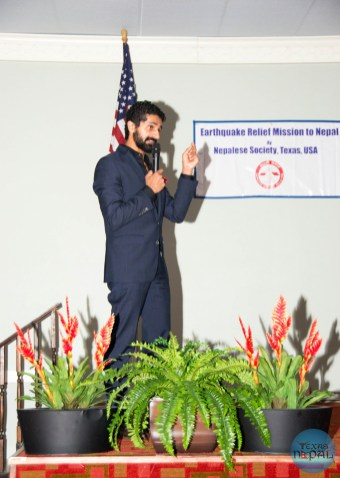 Nepal Earthquake Relief by Texans Fundraiser with Dr Fahim Rahim