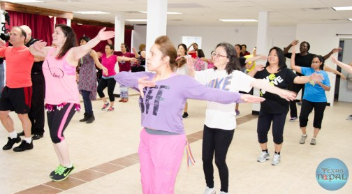 Zumba Dance for Earthquake Victims of Nepal Photo 14