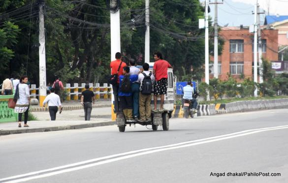 CPN Maoist's Nepal Bandh Cripples Daily Life