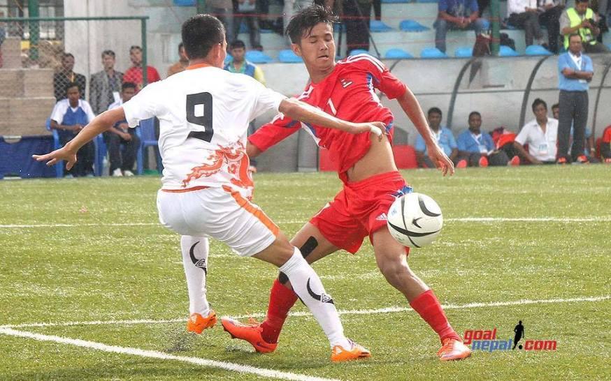 Nepal u19 vs Bhutan u19 SAFF U19 2015