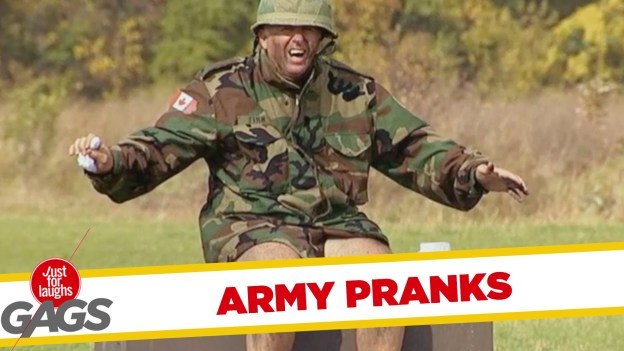 Best Army Pranks – Just for Laughs