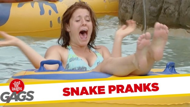 Best Scary Snake Pranks – Just for Laughs