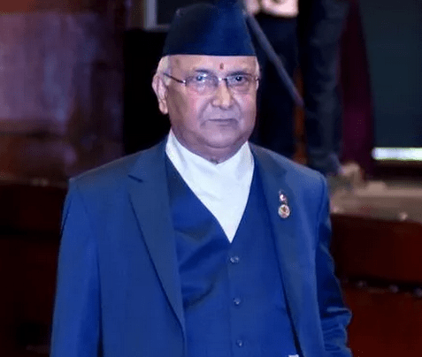 kp oli elected as the 38th Prime Minister of Nepal