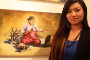 London Based Nepali Artist Celebrates Dignity and Strength of Nepal