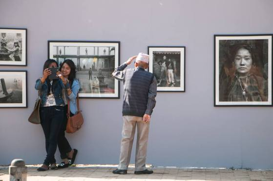 Patan D Square Transformed Into Gallery For First Int'l Photography Festival