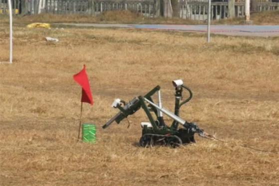 Nepali Army Purchases Bomb Disposal Robot
