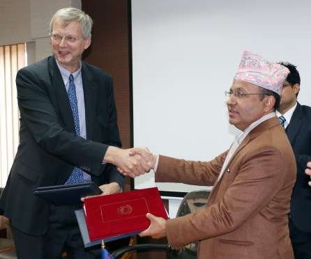 Germany To Provide More Than 3 Billion Rupees Grant Assistance To Nepal