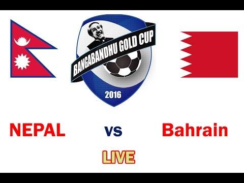 Bangabandhu Gold Cup 2016: Nepal Vs Bahrain U-23 LIVE!