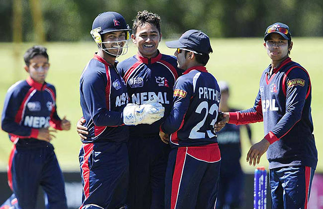 Nepal defeats New Zealand by 32 runs