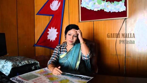 Inside Singha Durbar – Gauri Malla as Prime Minister