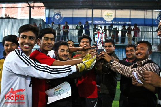 Siddhartha Vanasthali 'A' Wins Inter-school Futsal Competition