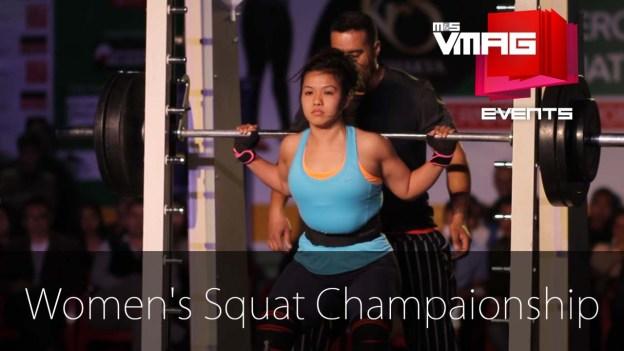 Female Squat Championship