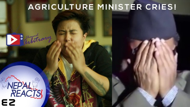 Nepal's Agriculture Minister Cries! Nepal Reacts!