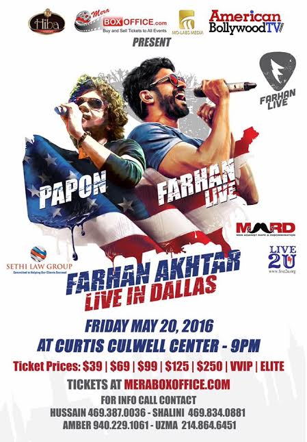 Farhan and Papon LIVE in Concert