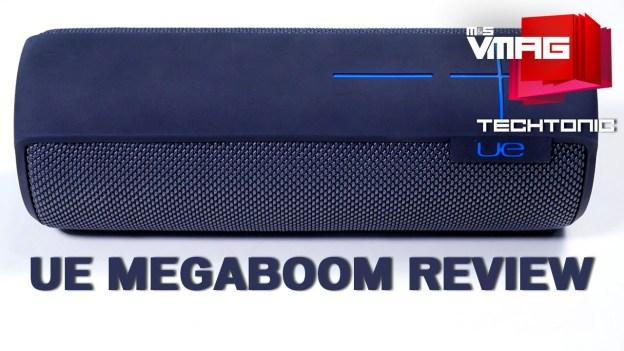 Gadget Review: Logitech's UE MegaBoom Bluetooth Speaker