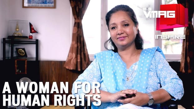 M&S Inspire: A Woman for Human Rights