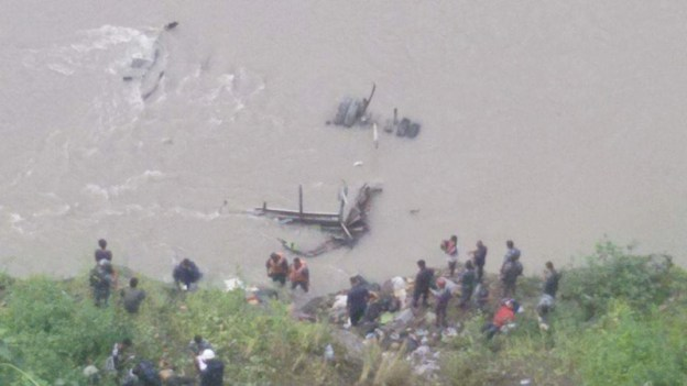 Death Toll Reaches 21 For Trishuli Bus Plunge In Chitwan
