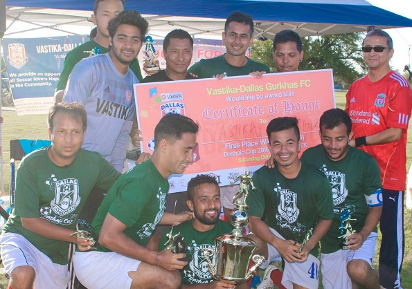Dallas Gurkhas Win 5th Dashain Cup