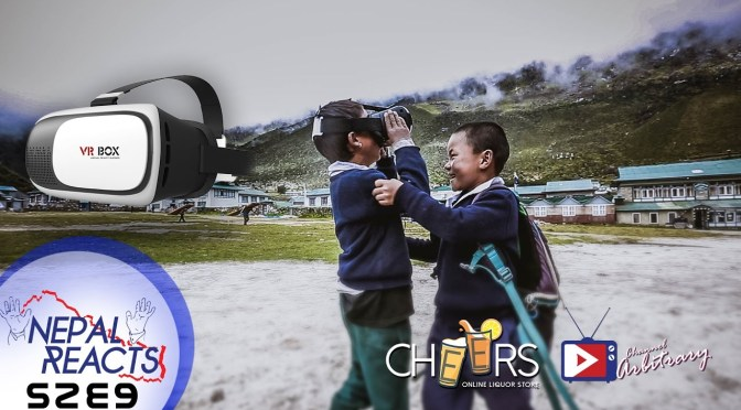 Nepal Reacts to Virtual Reality! (Kids Special)