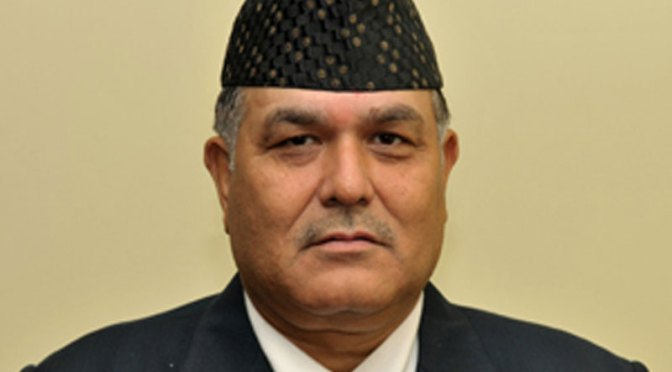 Lok Man Singh Karki No Longer Chief of CIAA
