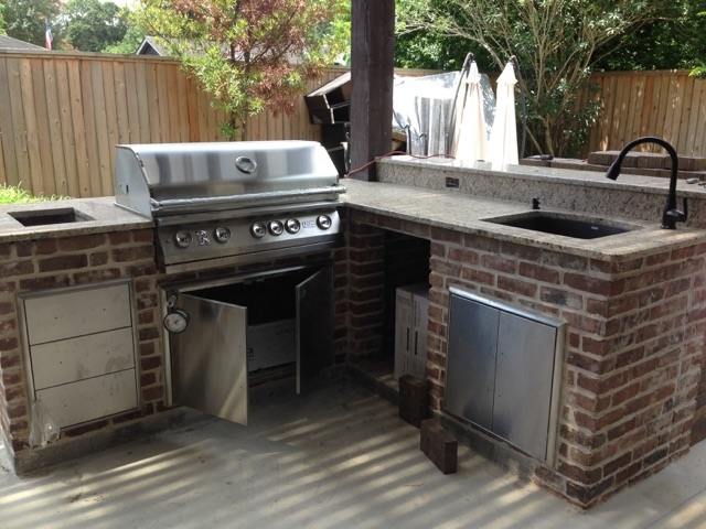 patio kitchen cabinets sets how to build an outdoor in houston tx beautiful