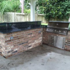 Patio Kitchen Cabinets Prices How To Build An Outdoor In Houston Tx Jpg