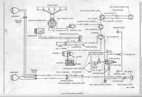 small resolution of 1947 wdx 1947 dodge truck wiring 1937 dodge truck wiring diagram