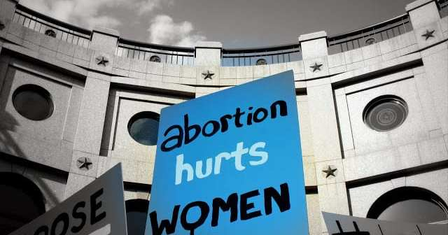 Abortion hurts women