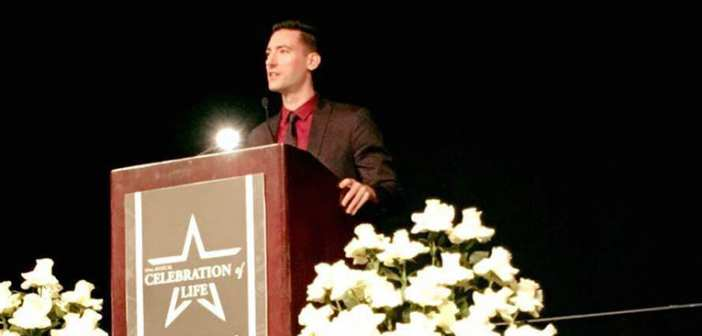 David Daleiden describes his undercover investigation at the Celebration of Life in Houston