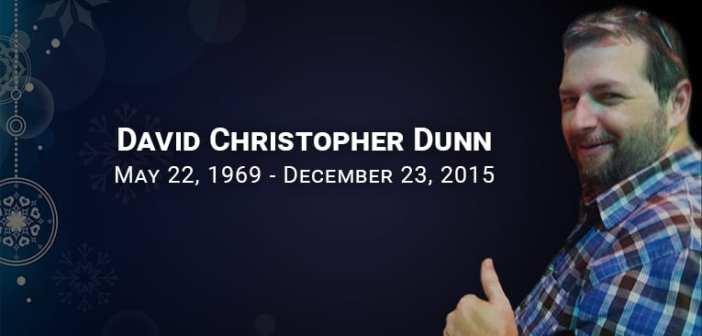 Chris Dunn one year anniversary