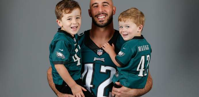 "NFL player Chris Maragos shows his commitment to being Pro-Life: ""Each mother with doubt in her heart needs all of us"""
