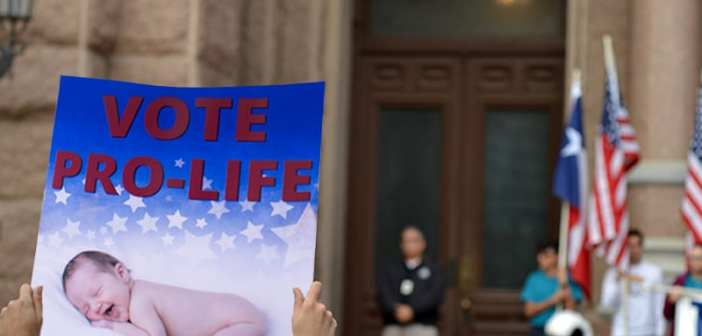 Pro-Life movement gains ground in Texas Primary Runoff Election 2018