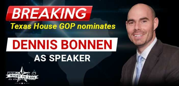 Texas House Republican Caucus backs Rep. Dennis Bonnen for House speaker