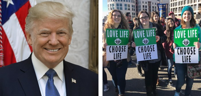 President Trump Will Be First President to Attend March for Life