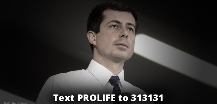 """Buttigieg says """"we are all lifted up"""" by abortion"""