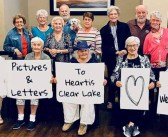 Write letters to elderly Texans during the COVID-19 quarantine