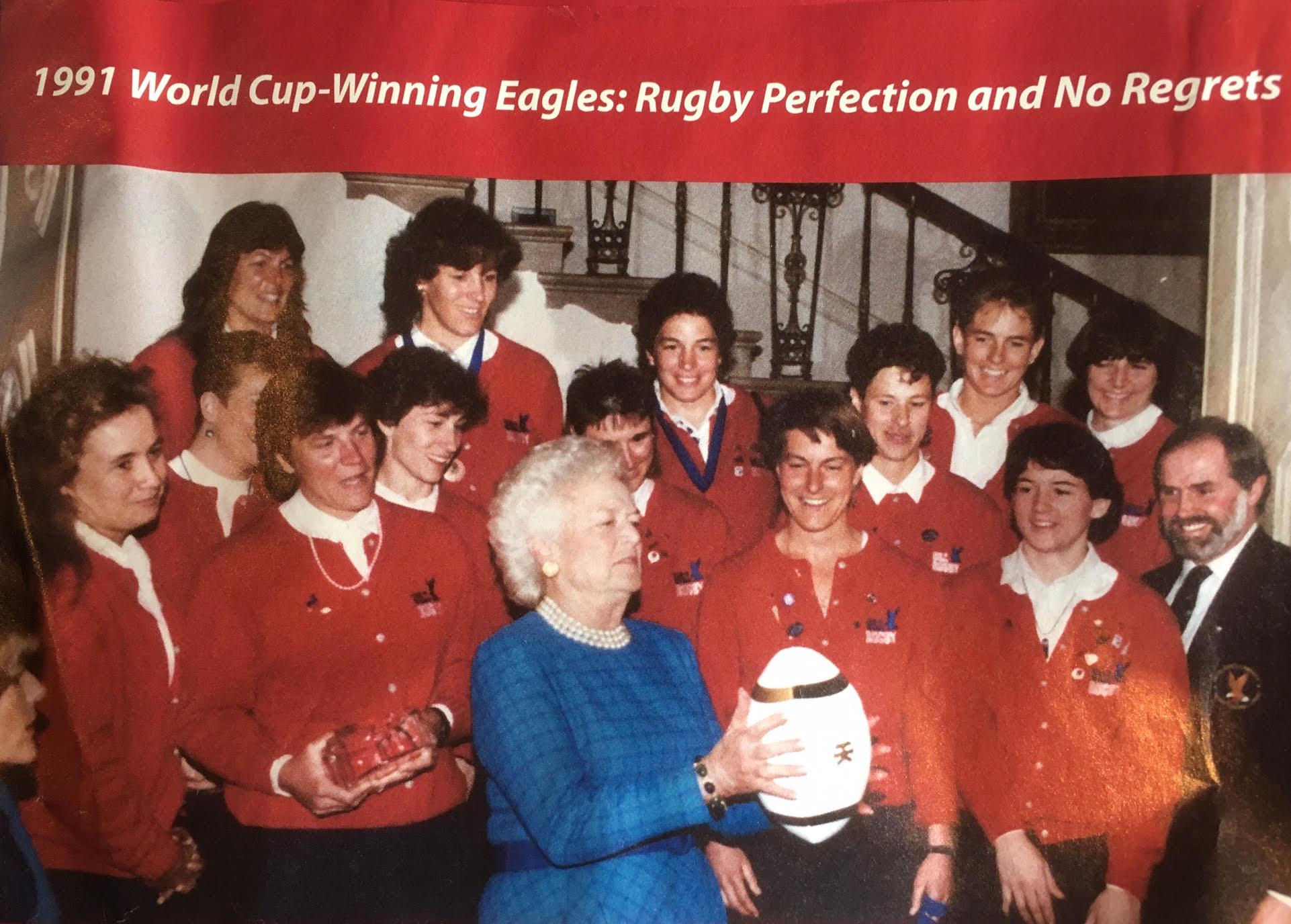 1991 Krista McFarren - Inaugural Women's Rugby World Cup Winners