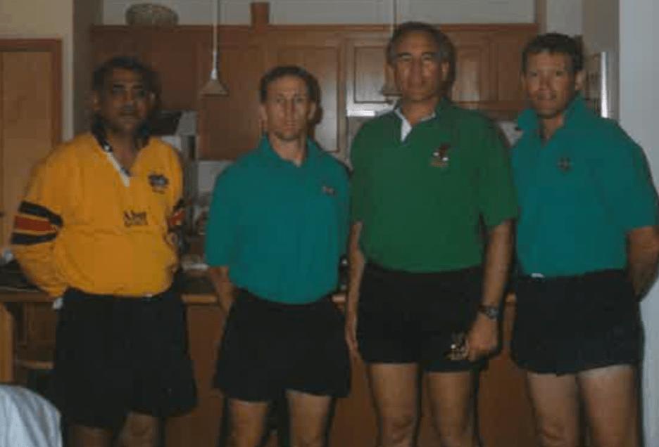 1998 Mike Geach - Canada v Hong Kong
