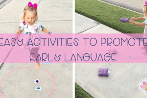 Easy Games to Promote Early Language