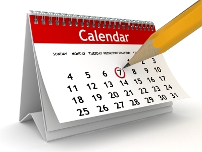 photo of a calendar accredited online high school diploma texas