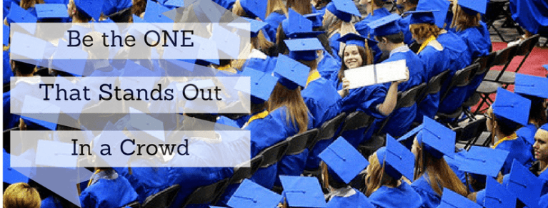 BE the one who stands out with an accredited diploma