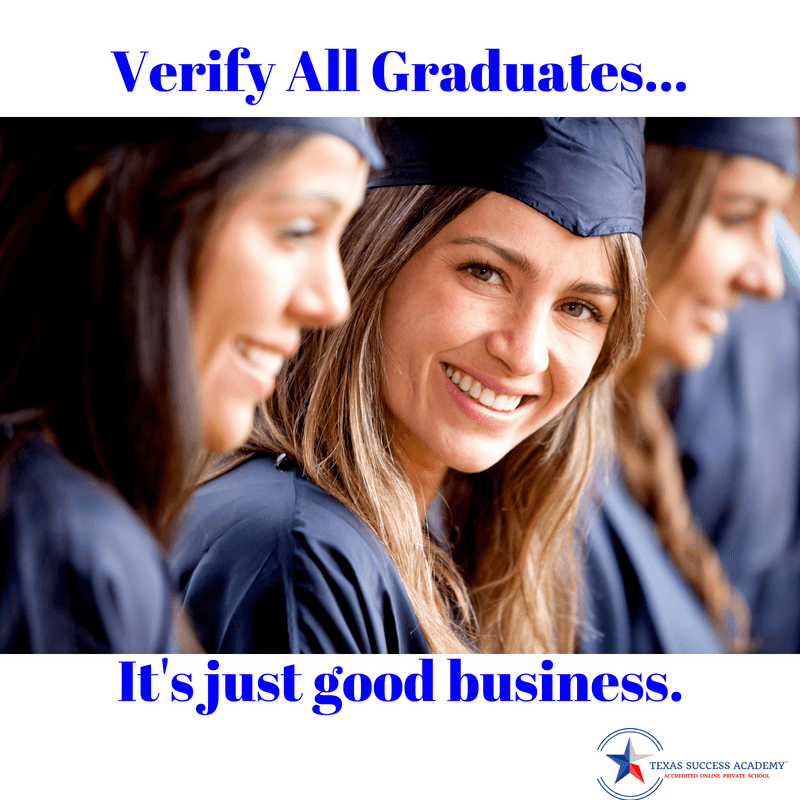 Verify graduates helps protect your business from undue financial hardships.