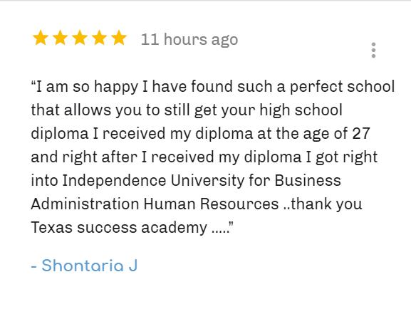 Fully Accreditation online adult high school school