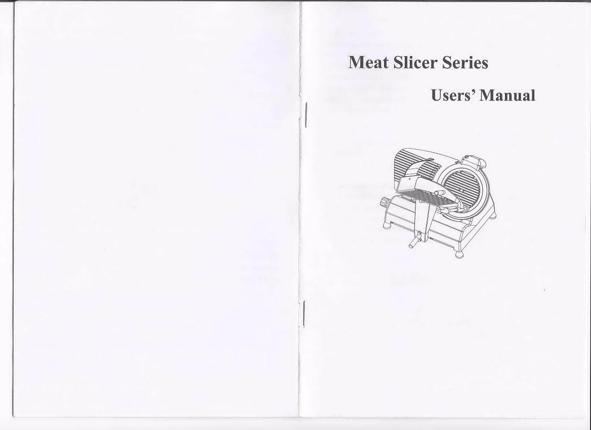 Manual For Slicers