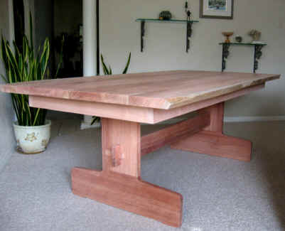 Solid Wood Dining or Conference Table