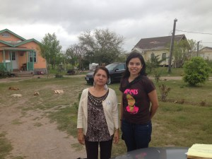 Martha Sanchez and Yvette Salinas of LUPE